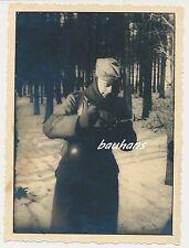 Foto Soldat- Wehrmacht  - Bergen 1940  (e768)