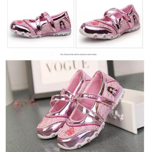 26-37 Kinder Mädchen Mary Jane Loafers Schuhe Weiche Prinzessin Tanz Sandalen