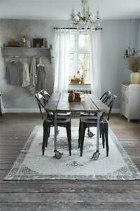 Nostalgie-Vintage-Teppich-Laeufer-Dusty-Flower-160x240cm-Jeanne-d-Arc-living-NEU