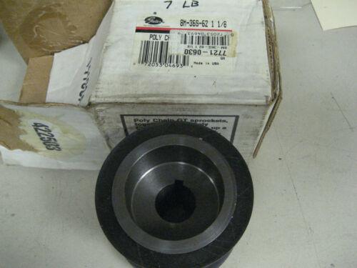 GATES POLY CHAIN GT SPROCKET P//N  8M-36S-62  1-1//8