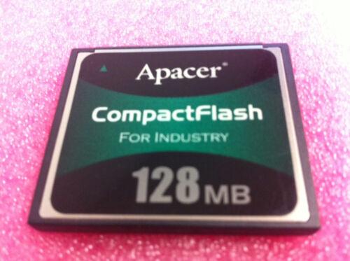 128MB Apacer Industrial Grade Temp Compact Flash Card Router POS Cisco Juniper