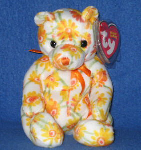 c1007386ce8 TY SHASTA the BEAR BEANIE BABY - MINT with MINT TAG 8421400706