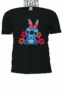 Disney-Lilo-amp-Stitch-Ohana-cutest-funny-family-Men-Women-T-shirt-Unisex-V188
