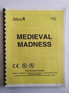 MM - Medieval Madness- pinball manual - copy