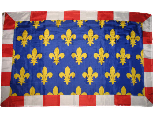 3x5 Touraine Province French France Super-Poly Flag 3/'x5/' Banner Super Poly