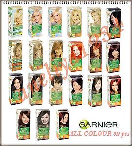 All Garnier Color Naturals Permanent Hair Dye Colour Cream 32 Different Shades Ebay