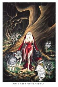 Howl-by-Ruth-Thompson-inch-Poster-24x36-inch