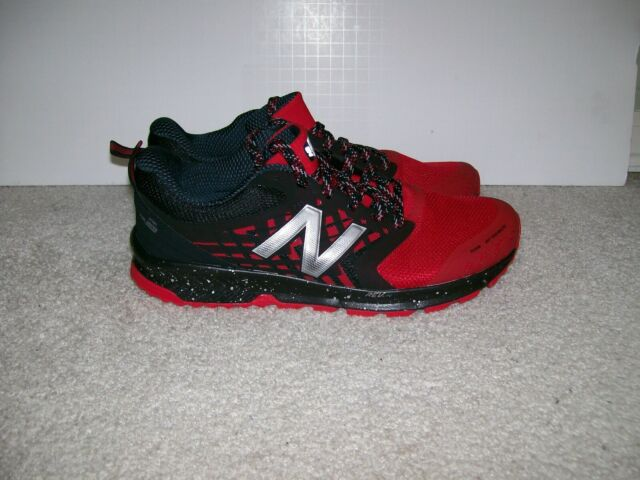 DS Mens New Balance Fuelcore Nitrel V1 Red Black Running Training Shoes MTNTRCR1