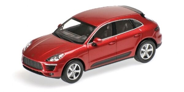 Porsche Macan 2013 rosso Metallic 1 43 Model MINICHAMPS