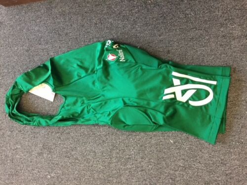 L NALINI Bibshorts Team Credit Agricole size 4 New with tags