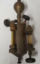 Huge Antique Chicago Lubricator Oiler Brass Hit Miss Steam Engine 1q