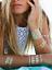 Flash-Einmal-Temporary-Klebe-Tattoo-Gold-Blau-8teile-Armband-Hals-Kette-Body-G26 Indexbild 4