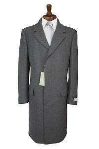 Manteau en moiti classique gris de manteau laine aawFnT4r