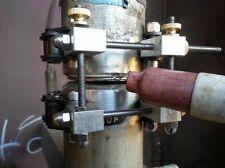 "Heavy Duty Schedule 40 Pipe Tack Welding Clamp Weld 2.5"" to 3.0"" Tig Mig Gas"