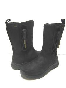 987180a2620 Details about UGG SUVI WATERPROOF WOMEN WINTER BOOTS LEATHER BLACK US 9.5  /UK 8 /EU 40.5