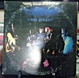 CROSBY-STILLS-NASH-amp-YOUNG-4-Way-Street-LIVE-Double-Album-Released-1971-Vinyl