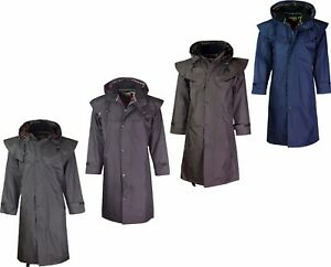 Waterproof eBay Inside Mens Coat Jacket Lining Riding Check With Long PPavIfq