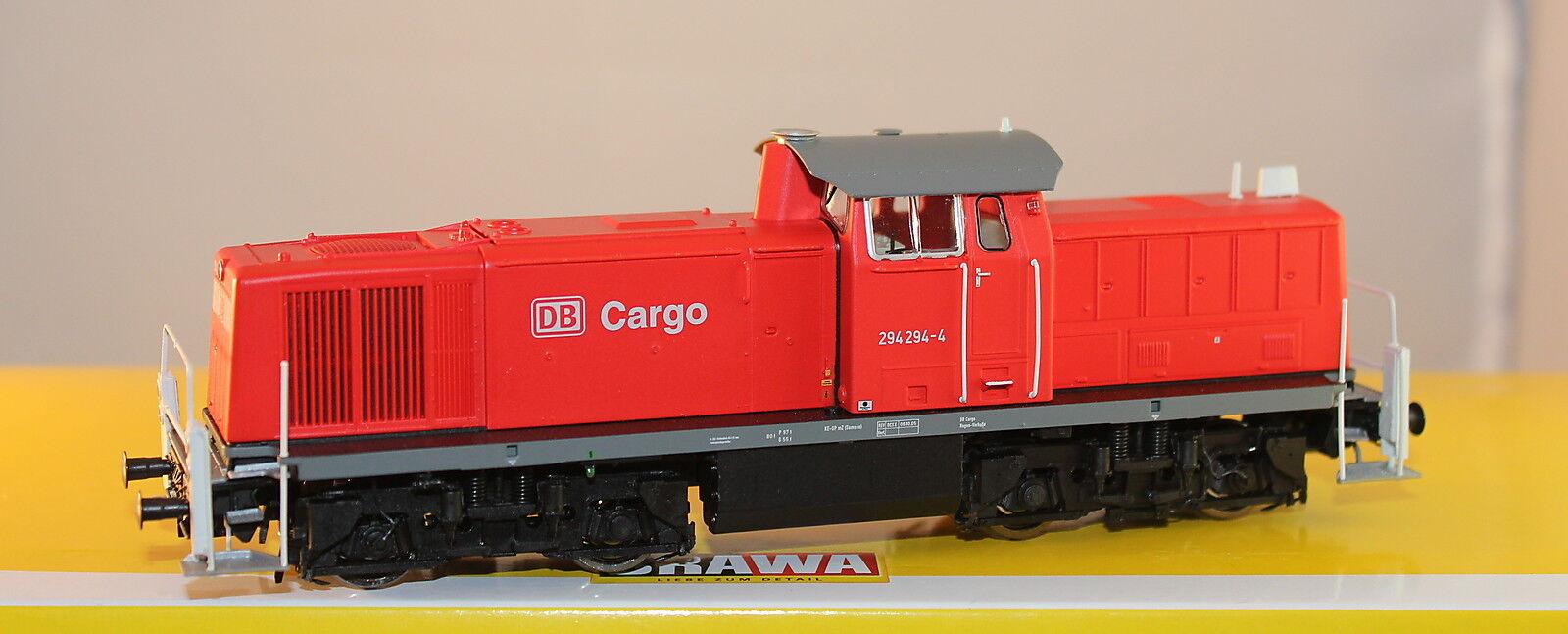 BRAWA 41511 Locomotora diésel 294 294-4 DB AG , época V DC B  Analógico