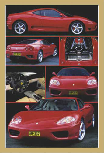 Ferrari 360 Modena Größe 61x91,5 cm Auto Poster Druck