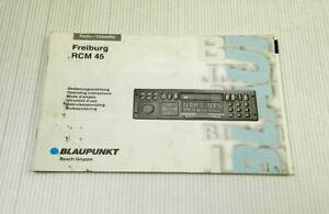 Blaupunkt-Autoradio-Freiburg-RCM45-Bedienungsanleitung-Betriebsanleitung-04-1995