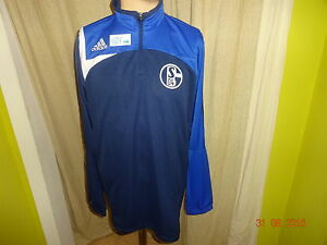 FC-Schalke-04-Original-Adidas-Training-Zipper-Jacke-2006-07-Gr-XL-TOP