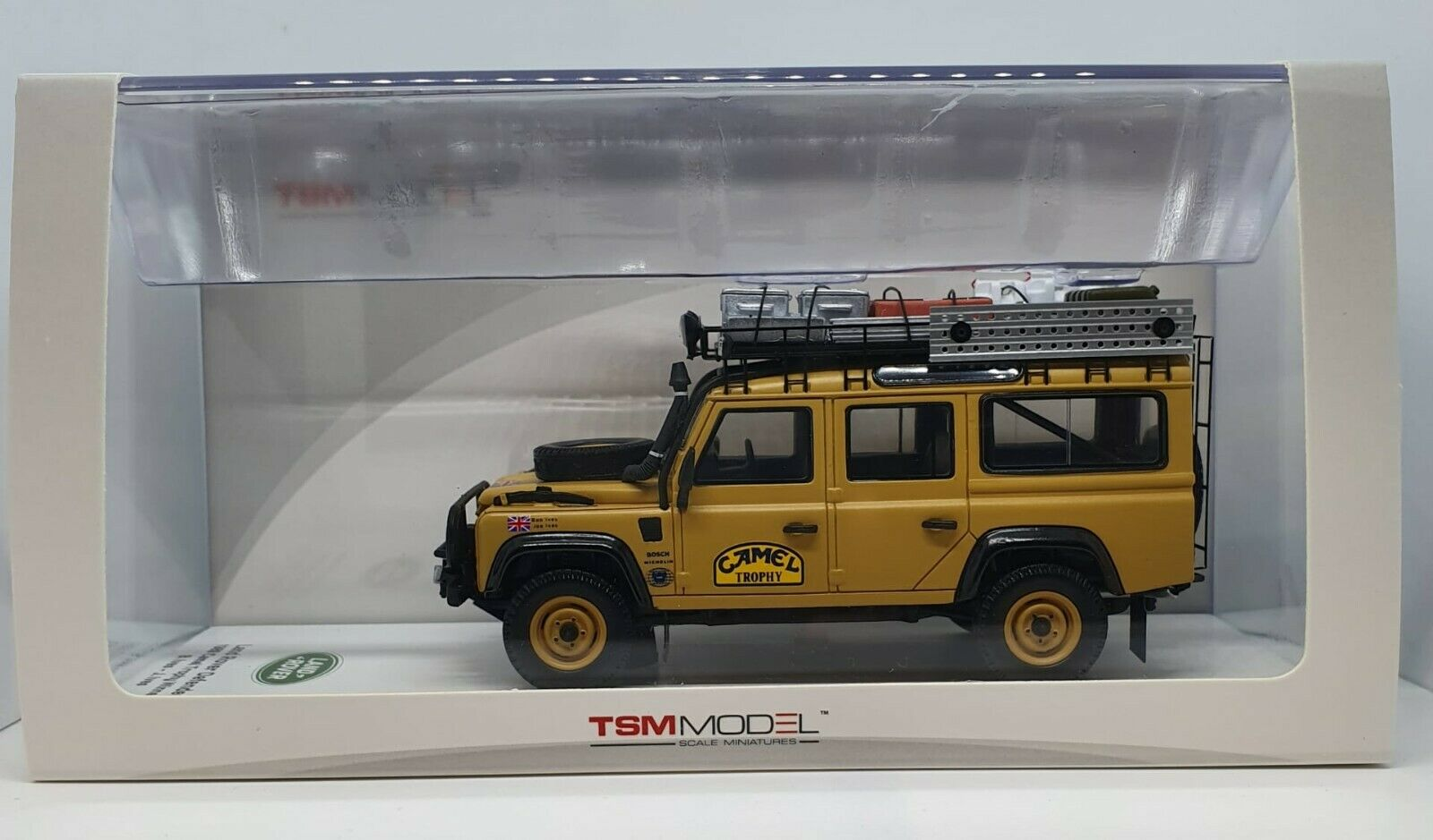 TSM164320 LAND ROVER DEFENDER B.IVES; J.IVES WINNER CAMEL TROPHY 1989 1 43