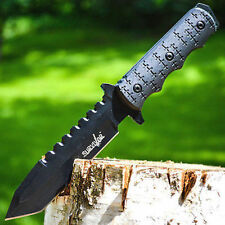 """9"""" TACTICAL SURVIVAL Rambo Hunting FIXED BLADE KNIFE Army Bowie w/ SHEATH"""