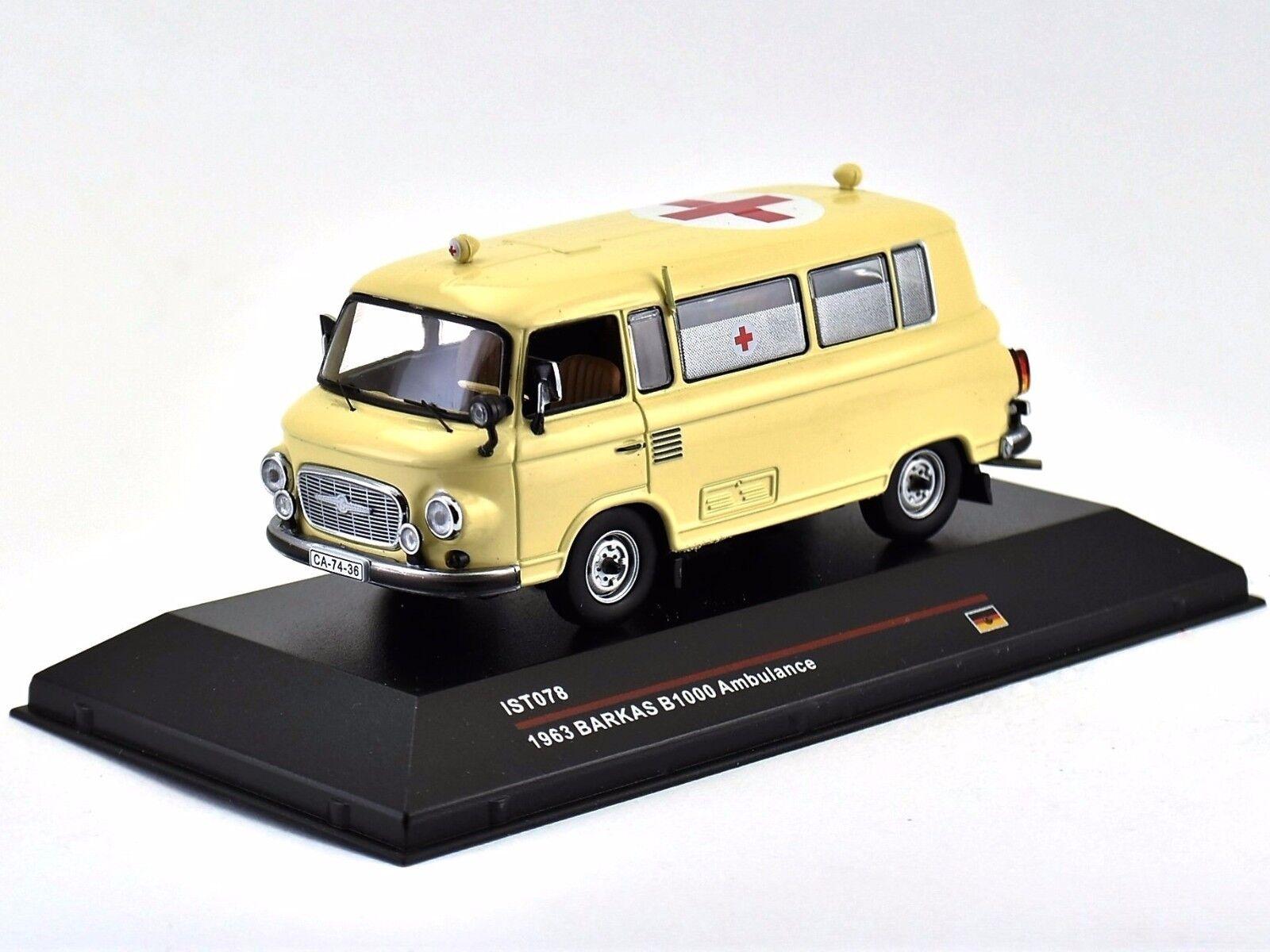 Barkas B1000 Ambulance 1963 1 43 IXO IST078 (ABIXV027)