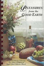 *NEW PORT RICHEY FL 2002 LUTHERAN CHURCH COOK BOOK PLEASURES FROM THE GOOD EARTH