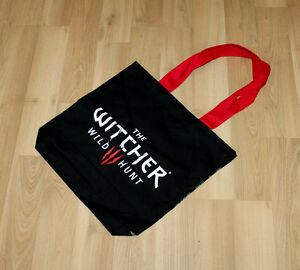 The-Witcher-3-Wild-Hunt-promo-Stoff-Trage-Tasche-Carrying-Bag-Gamescom-2014