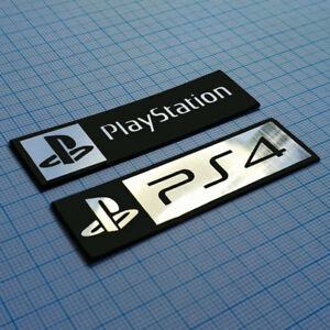 Details About 2 X Ps4 Metallic Logo Sticker Badge 70 Mm 20 Mm