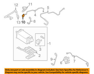 Details about FORD OEM-Pcv Valve 2C5Z6A666AA on