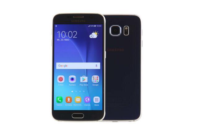 Samsung Galaxy S6 G920 - 64GB - Black (Ohne Simlock) - Gebraucht #037