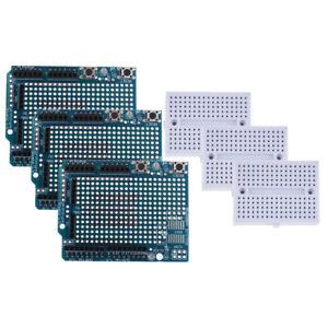 Proto Shield V3 Expansion Board Breadboard For Arduino MEGA2560//1280 GB
