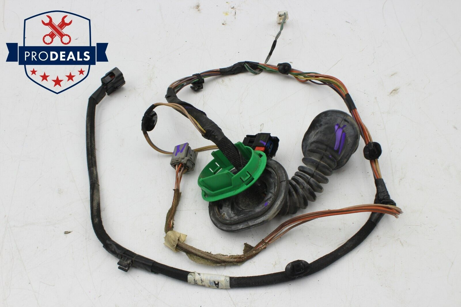 2005-2007 jeep grand cherokee headlight wiring harness plug 5143153aa right  left for sale online | ebay  ebay