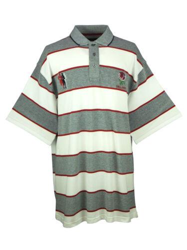 BROOKLYN Mens Big King Size Premium Plus Rugby Polo Shirt Top All Blacks England