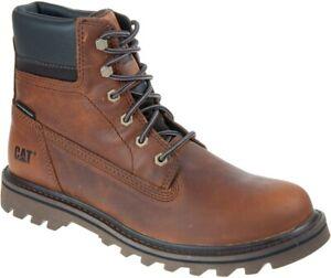 CAT-CATERPILLAR-Deplete-Waterproof-P721722-en-Cuir-Chaussures-Bottes-pour-Homme
