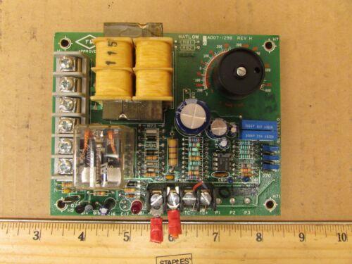 Watlow 140A-1605-6000 Type T A007-1298 Rev H Temperature Control Board 115//230V
