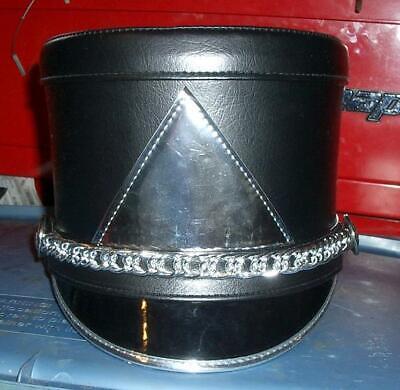 Fruhauf Uniforms Black Marching Band Shakos Helmet High School Prop