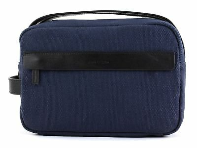 Marc O'polo Borsa Da Toilette M True Navy Morbido E Antislipore