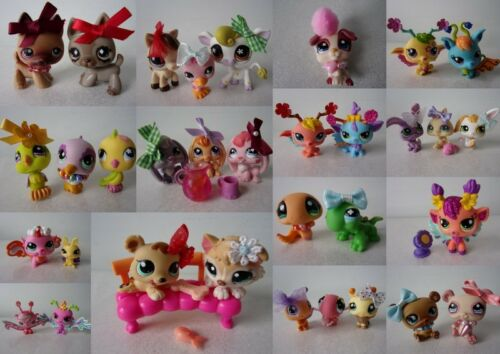 Littlest Pet Shop LPS Chien Serpent Oiseau Fairy Panda etc ... (Y)