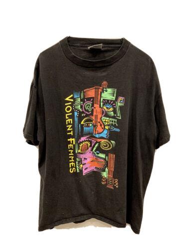 vintage violent femmes T shirt 1992 90s Concert Te