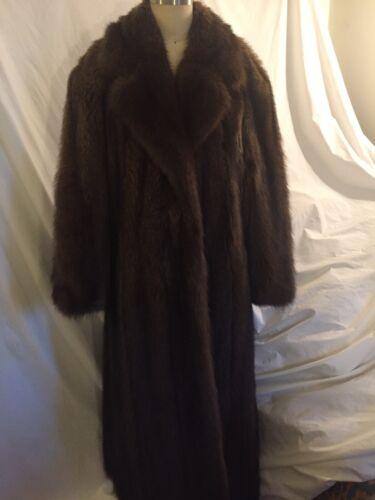 Ladies Ankle Length Fischer Coat