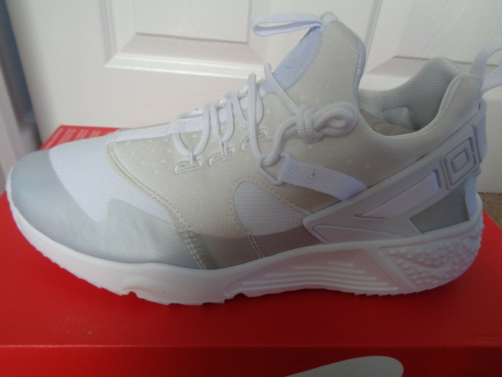 NIKE Air Huarache Utility Sneaker Uomo Scarpe Da Ginnastica Scarpe 806807 100 NUOVO Scarpe classiche da uomo