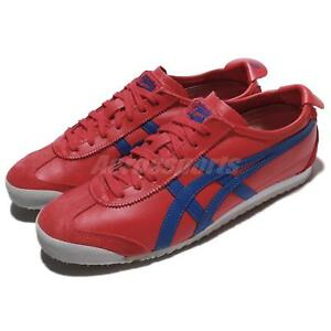 Asics-Onitsuka-Tiger-Mexico-66-True-Red-Blue-Men-Running-Shoes-D4J2L-2345