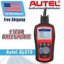 Autel AL619 Autolink Diagnostic Fault Code Reader Tool OBD II SRS CAN ABS Airbag