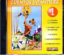 CUENTOS INFANTILES VOL.1 - EN ESPAÑOL  - CD