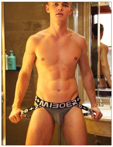 Men/'s Jockstrap T-back Cotton Shorts Man Boxer Briefs Backless Underwear Cool
