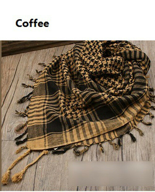 Vogue Army Military Tactical Arab Shemagh KeffIyeh Shawl Scarves Scarf Wrap JCAU