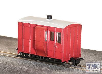 GR-530UR Peco OO9 Gauge Glyn Valley Tramway 4 Wheel Brake Coach Red